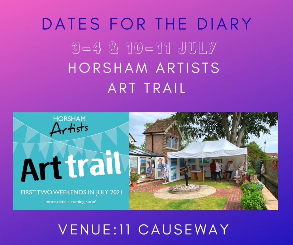 Horsham Art Trail Dates