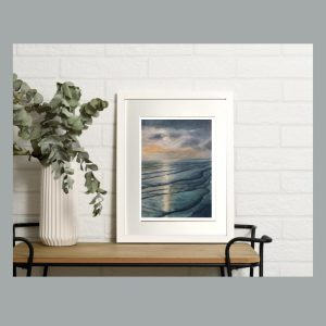 Sunset By The Sea Frame